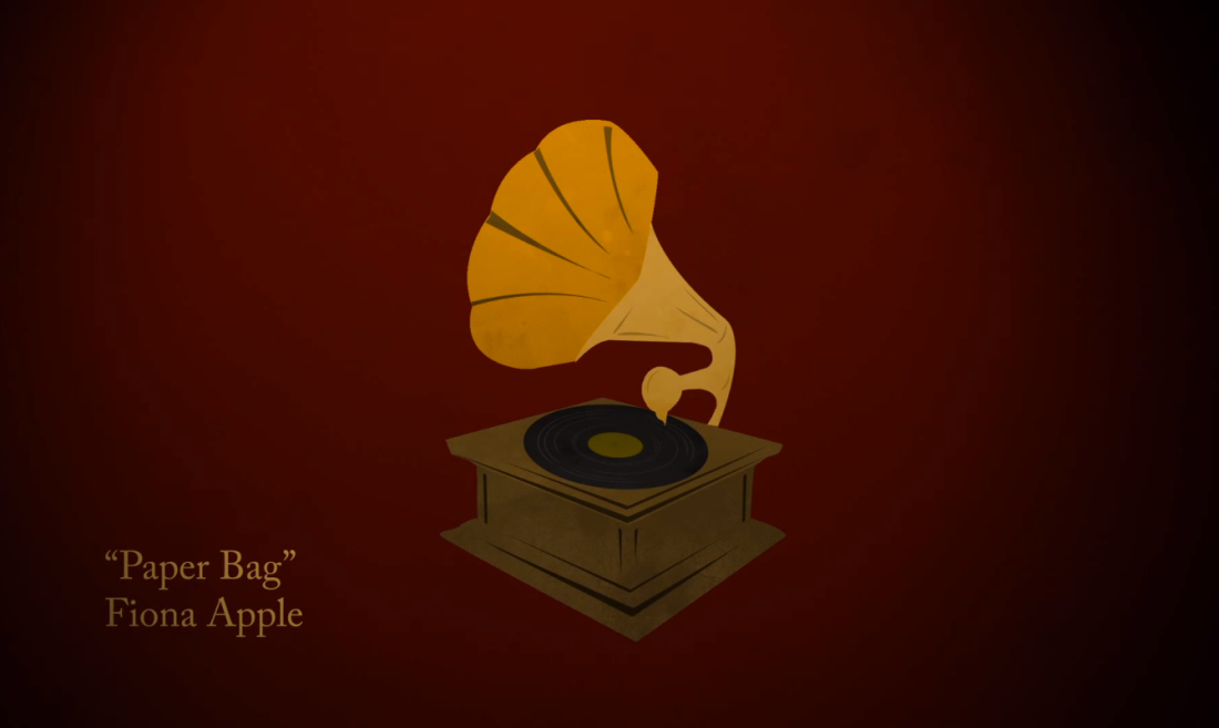 """""""Paper Bag"""" Gramaphone"""