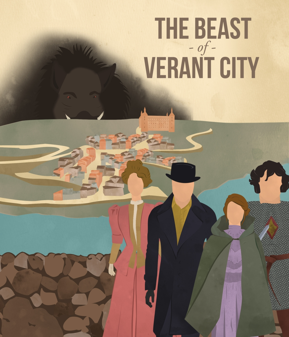 The Beast of Verant City - Poster