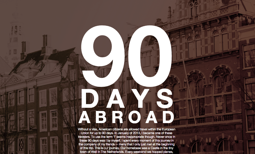 90 Days Abroad